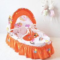 Wholesale 2015 China Suppliers Customized Handmade Bassinet Woven Baby Basket for Newborn Bassinet for Baby Colors
