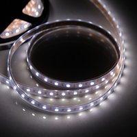 Wholesale 14 W M M LED Flexible Strip Light SMD LED DC V Waterproof White Light Strip Roll Graden Decoration LED Strip H13370