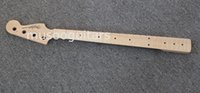 Wholesale New brand electric string bass neck with flame maple
