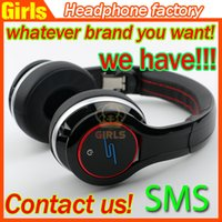 Wholesale Over Ear headphones cent SMS Audio SL600 Sync by Cent Bluetooth wireless best sounding headphones All kinds of headphones