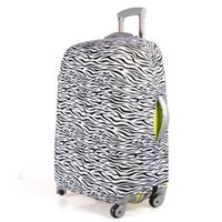 Wholesale Luggage Protector Suitcase Cover Bags Zebra strip