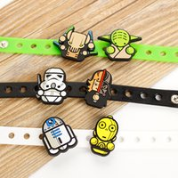 Wholesale 2015 New style Star Wars silicone bracelet Star War wristbands Toy doll bracelets Adjustable wrist band bracelet Children