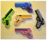 Wholesale green pink gold black blue gun Foam Gun Toy For Baby Children