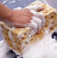 Wholesale The car washing sponge honeycomb super wear coral sponge does not hurt the car paint cleaning foam sponge