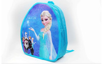 Wholesale In stock FROZEN Children s small bag Elsa children School Bags ice snow Learning stationery baby Cartoon monolayer bag toy bag Y