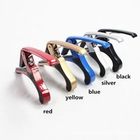 Wholesale 5 kinds of colors can be mixed batch wood capo metal umlaut clip large grip capo capo