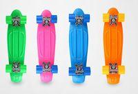 Wholesale Hot Selling kg Load Retro Long Skateboard Starry Sky Pattern Mini Board Longboard for Outdoor Sport for Boy Girl Gift