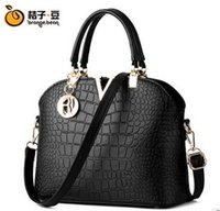 bamboo hand bag - New Woman Handbag Designer Hand BagsShell bag new handbag Europe