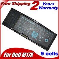 alien ware - BEST MAH V Laptop Battery For Del C852J F310J C852J F310J H134J Alien ware M17x R3 M17x R3 D Gaming Laptop