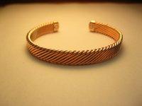 Wholesale 2014 fashion NEW Magnetic Copper Bracelet Bangle For men women children B13