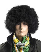 afro wigs - Halloween Party Football Fan Party Afro Wig