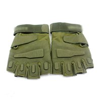 active outdoor games - Unisex Outdoor Sports Riding Motorcycle Gloves Cloth Fingerless Military Game Riding Gloves