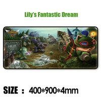 Wholesale Customization Mouse Pad DOTA D games professional equipment MM custom made gaming pad mouse mat