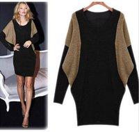 Cheap Casual Dresses sweater dress Best Plus Size Dresses Winter women sweater dress