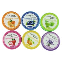 Wholesale Nail Art Polish Remover Pad Paper Towel Vanish Wet Wipes Paper Cleansing Beauty Tool