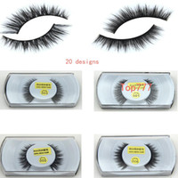 Wholesale makeup Mink False Eyelashes Real Mink Natural Thick False Fake Eyelashes Eye Lashes Makeup Extension Beauty Tools for women
