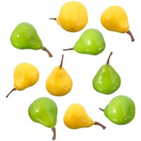 artificial fruit - New Arrival Pears Lifelike Decorative Artificial Plastic Fake Fruit Home Room Decor kitchen living room