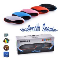 Wholesale Wireless Bluetooth Rugby Music Sound Box Music Speaker Support USB TF Card In Red Black Blue Pink White Can Mix Color