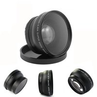 Wholesale World Deal MM X Wide Angle Lens with Macro Lens Bag For Nikon D5000 D5100 D3100 Wavors