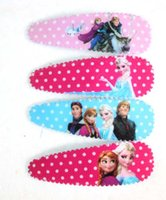baby sheets purple - Hot Sale Sheets High Quality Frozen Princess Anna Elsa clips for kids baby head wear cute hairpin children hair accessories