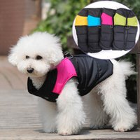 american ski classic - 2015 newEuropean and American pet autumn winter clothes Light ski the dog dog down jacket High end pet cotton padded clothes