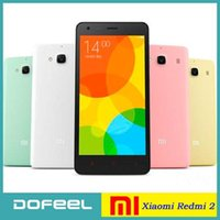 Wholesale Original Xiaomi Redmi Phone G LTE FDD Red Rice Dual SIM MSM8916 Quad Core quot p GB RAM GB ROM MP MIUI Smartphone