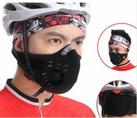 Wholesale Mountain bike cycling masks movement mask activated carbon masks pm2 wind warm dust
