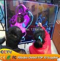 Wholesale new cm New product aluminum frame Menu Flashing Neon Sign LED Writing Board LED fluorescent writing board with CE ROHs