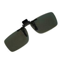 Wholesale 3pc Clip type D glasses Circular Polarized for Passive D TV