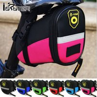 bicycle leather saddle bag - Cycle Zone Color Bicycle Saddle Bag Leather D Nylon Bicycle Tool Storage Bike Bag Fashion Bolsa Bicycle Accessories