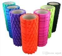 Wholesale BEST healthy x14cm Eco Friendly Yoga column EVA Yoga Gym Pilates Fitness Exercise Foam Roller Massage Training Trigger Point