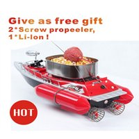 rc bait boat - 2016 Newest type T10 B mini fast electric rc bait fishing boat M Remote Fish Finder boat fishing Lure boat rc boat Hours