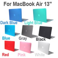 Wholesale Matte Hard Shell Tablet Case for Apple Macbook air Keyboard Protector Cover for MacBook Air quot US Version order lt no track