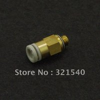Wholesale Lot5 Replace SMC KQ2H04 S Pneumatic Tube Fittings mm quot BSPT One Touch Push In Brass Male Tube Straight Union Connector order lt no trac
