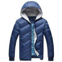 Cheap Fall-2015 Top popular Winter Men's Down Jackets 4 Bright Colors Soft Cotton Thicken Coats hooded wadded coat winter Parka Overcoat #C