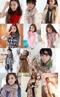 Wholesale 2015 cm Autumn vintage silk scarves women casual gorgeous print scarf shawl wrap Color
