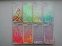 abs panda - Fashion Liquid Panda Transparent Plastic Hard Back Case Cover Moving Glitter Case for Samsung note5