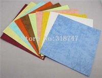 Wholesale Random mixed colors quot cm Paper Meterial Handmade Paper