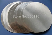 aluminum foil material - Free ship For induction sealing mm plactic laminated aluminum foil lid liners
