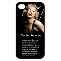 For Apple iPhone marilyn monroe - Marilyn Monroe Charms Hard Plastic Mobile Phone Case Cover For iPhone S S C Plus