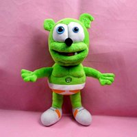 Wholesale Hot Sale cm Gummy Bear Voice Pet Funny Lovely Toys Sounding Plush Toy Best For Kids HT2059
