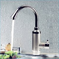 Wholesale 3000W electric water heater faucet instant tankless electric water heater tap Leakage protection J14321