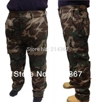 Wholesale Outdoor Wild Hunting Trousers Jungle Camouflage Pants Cutton Camo Trousers