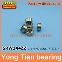 ball bearing standards - Dental handpiece special non standard inch bearings SRW144ZZ MM High quality stainless steel bearing