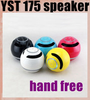 beatbox portable - YST Mini Speakers FM Radio TF Card Portable Subwoofer Bluetooth Wireless Beatbox With MIC LED Light Colors DHL Free MIS084
