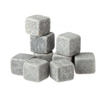 Wholesale Hot Whisky Ice Stones Drinks Cooler Cubes Beer Rocks Granite Pouch Drink Cooling Ice Melts order lt no track