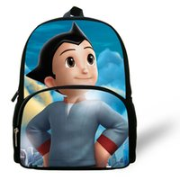 astro bags - 12 inch Mochila Escolar Astro Boy Backpack Kids School Cartoon Astro Boy School Bag Children Boy Book Bag Age
