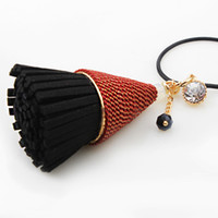 decorative tin - 2016 NEW new diamond tassel and winter accessories decorative accessories South Korea explosion long paragraph sweater chain n