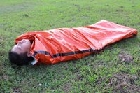 Wholesale Compressible Outdoor Emergency Sleeping Bags Portable Light Comfortable Sleeping Bag for Camping Hiking Travel Picnic Pad