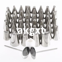 Wholesale Details about Pastry Fondant Cake Decorating Sugar Craft Piping x Icing Nozzle Tips Set G9 D504